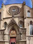 Gothic tour with visit to the Santa María del Mar Church