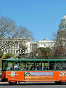 Trolley-Tour durch Washington D. C. mit Arlington Cemetery